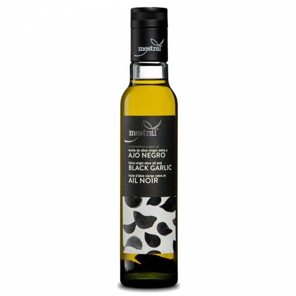 430009A Knoblauchöl Mestral Olivenöl mit schwarzem Knoblau