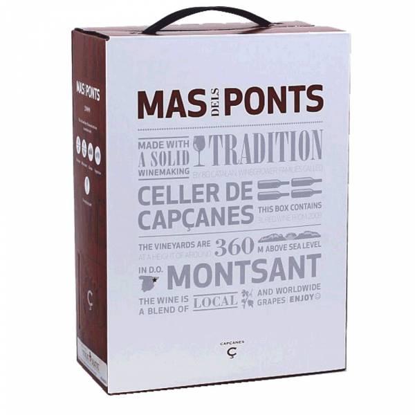 4005 Rotwein Mas dels Ponts Capcanes Bag-in-Box Schlauchwein
