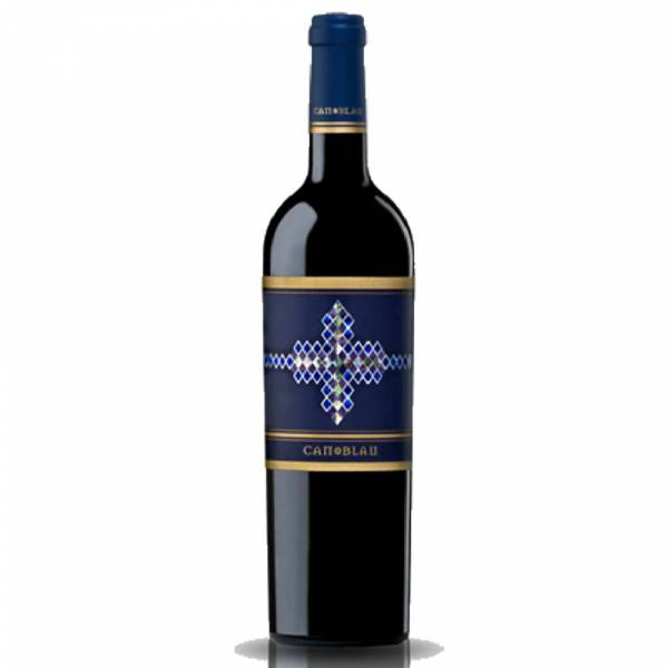 4546 Rotwein Can Blau Montsant Spanien