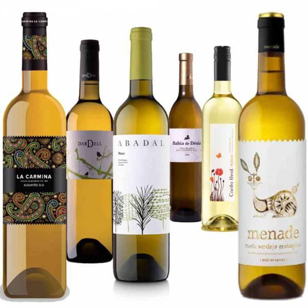 335818 Weinpaket 6 Flaschen spanischer Weisswein