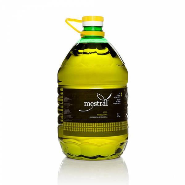 430003A Mestral Olivenöl Arbequina 5 Liter PET