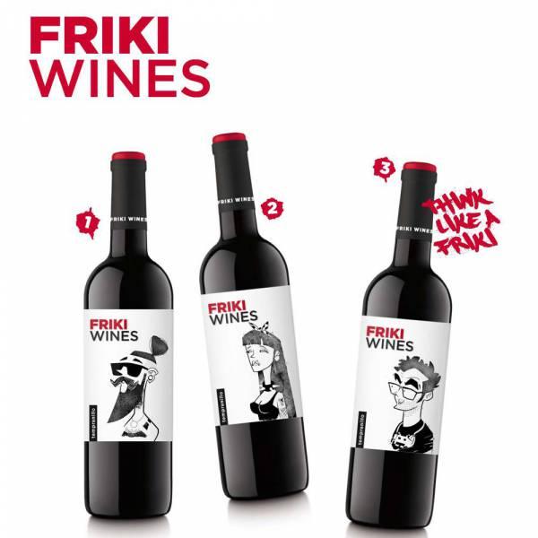 452016 Rotwein Freaky Wines Tempranillo