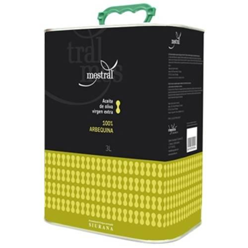 430004 Mestral Olivenöl Arbequina 3 Liter Kanister