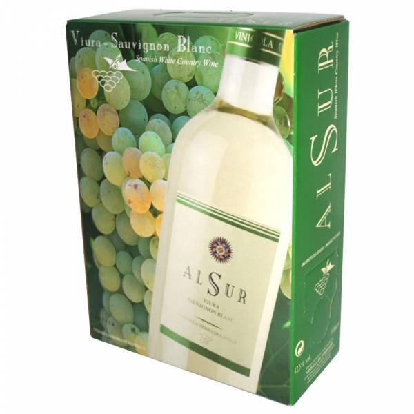 4178 Weißwein Bag-in-Box Alsur 3 Liter