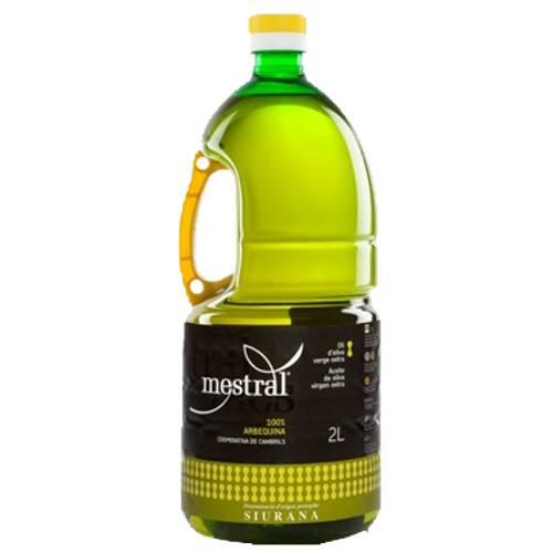 430002 Mestral Olivenöl Arbequina 2 Liter PET