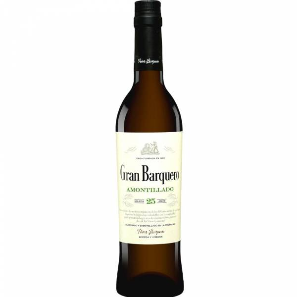 1274X1 Sherry Amontillado Gran Barquero 500 ml
