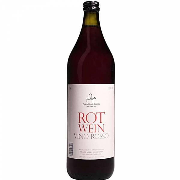 471218 Rotwein Vino Rosso Meran 1 Liter