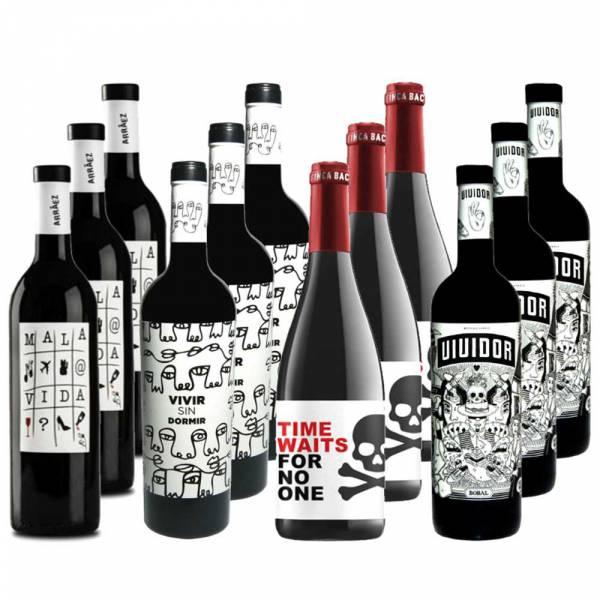 7100 Wein Set Verrueckte Weine aus Spanien