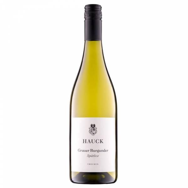 487819 Hauck Grauer Burgunder Spaetlese trocken