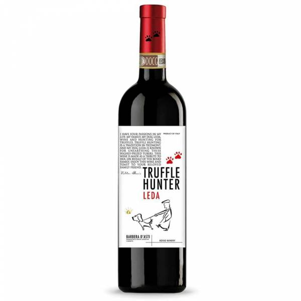 493319 Rotwein Barbera Truffle Hunter Leda Asti