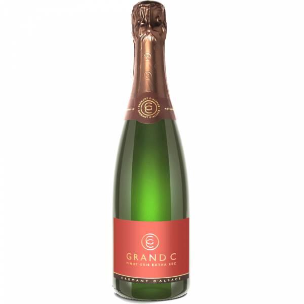 4428 Grand C Cremant Pinot Gris Extra Sec Elsass