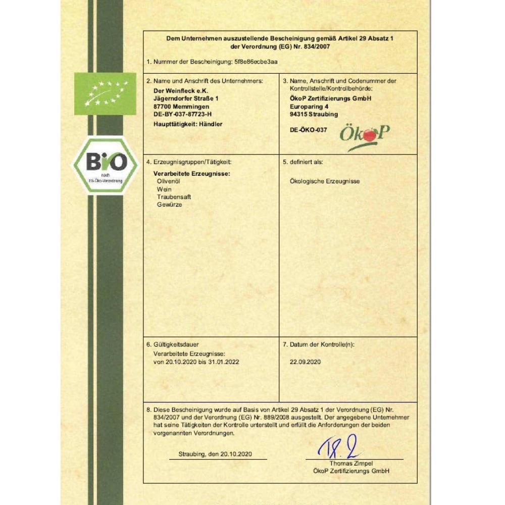 Bio-Zertifikat-Der-Weinfleck-Memmingen-2021
