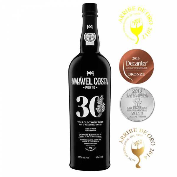 4635 Tawny Portwein 30 Jahre Year Old Amavel Costa