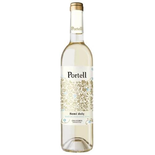 174618 Weisswein lieblich Portell Semi Dolc Blanc