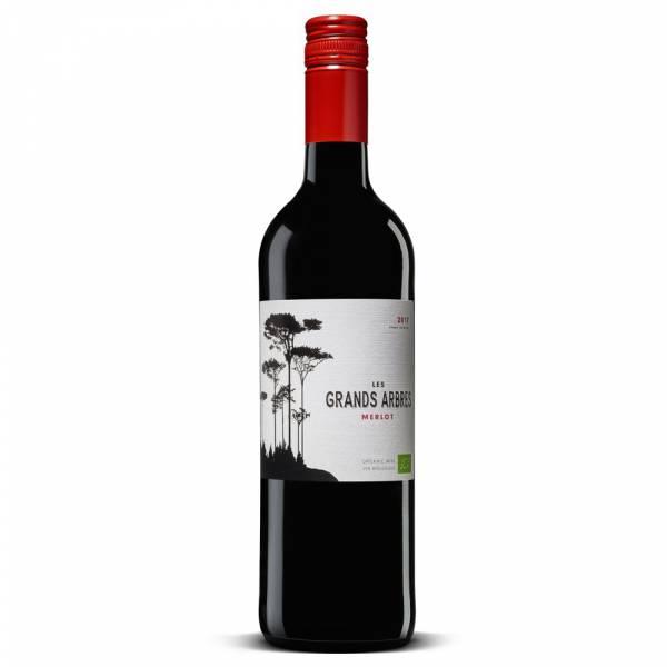 428417 Les Grands Arbres Bio Merlot Wein Frankreich