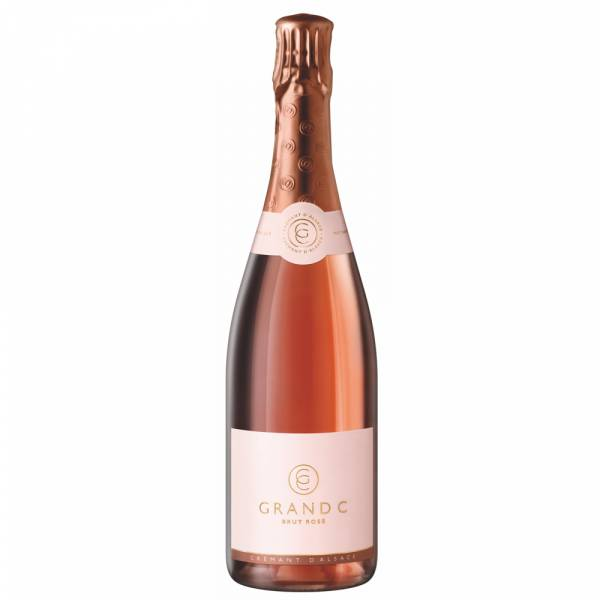 4427 Grand C Cremant Brut Rose Elsass