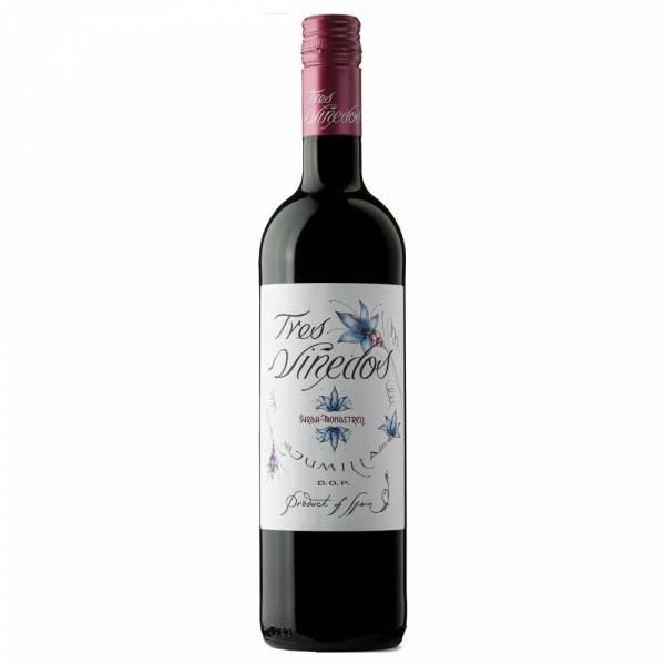 439818 Rotwein Tres Vinedos Syrah Monastrell Jumilla