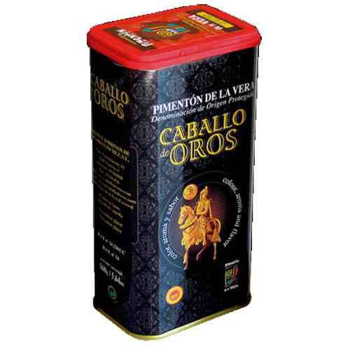 4536 Paprikapulver scharf geraeuuchert Caballo de Oro