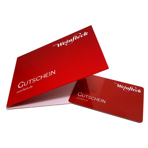Weinfleck Geschenk Gutschein online kaufen